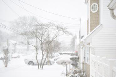 Snow New York weather in 2017 Jan 07