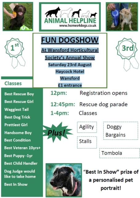 Wansford Dog Show