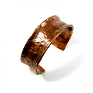 Recycled Copper Pipe Cuff