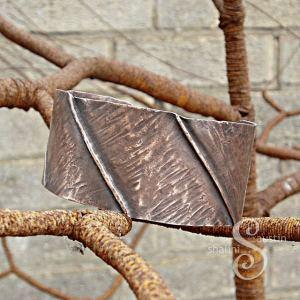 Fold Formed Copper Cuff 01