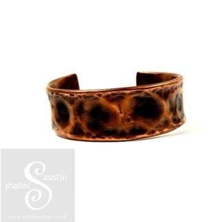 Upcycled Unisex Copper Pipe Cuff 04
