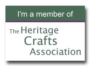 I am a member of the Heritage Crafts Association