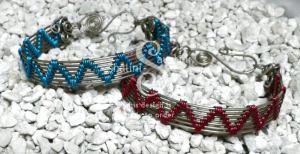 Wire Weave Bracelet 'Sheila'