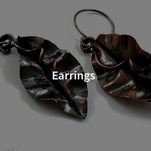 Handcrafted Earrings by Shalini Austin Metalsmith