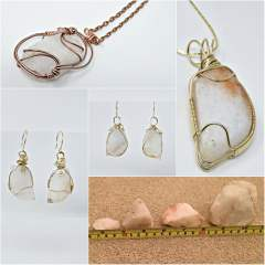Bespoke Wire Wrapped Rock Jewellery