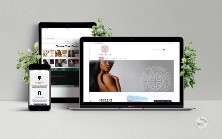 Hair-Extent-Web-Design