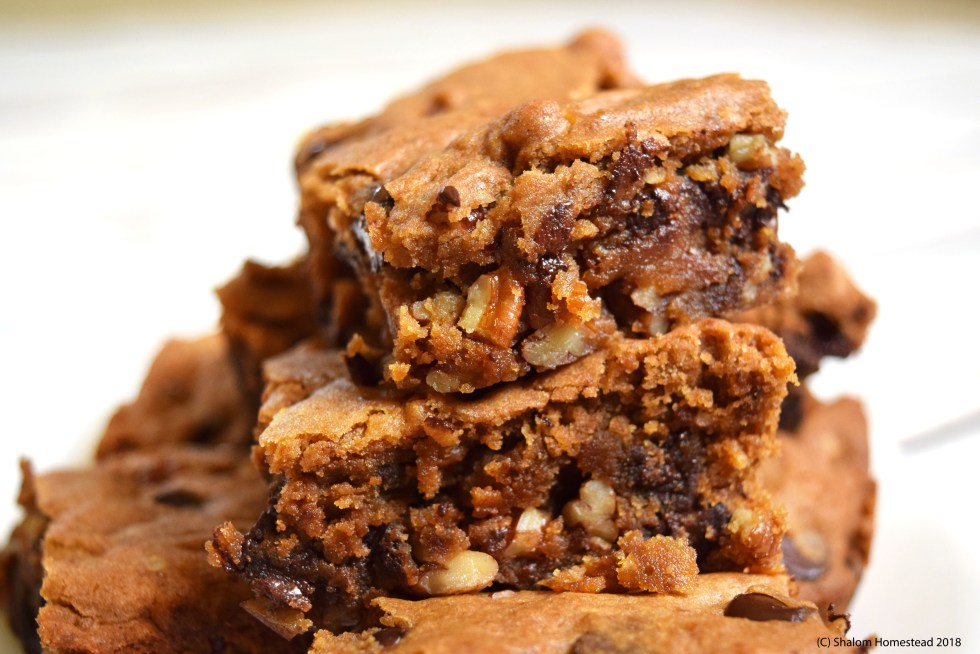 #vegan #glutenfree Butterscotch Blondies