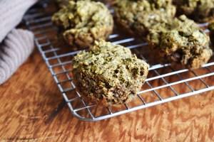 Black Pepper Chive Muffins #vegan #grainfree #glutenfree