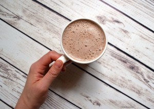 #vegan #sugarfree hazel mocha latte