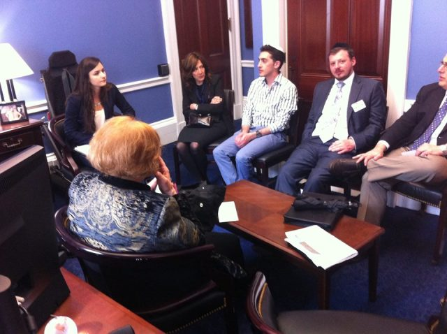 meeting with office of Us Representative Tammy Duckworth