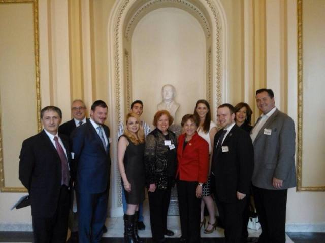 with Congresswoman Jan Schakowsky