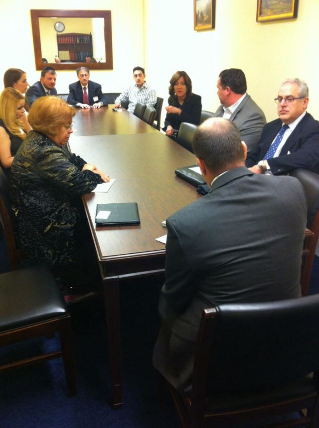 with House Small Business Committee staff