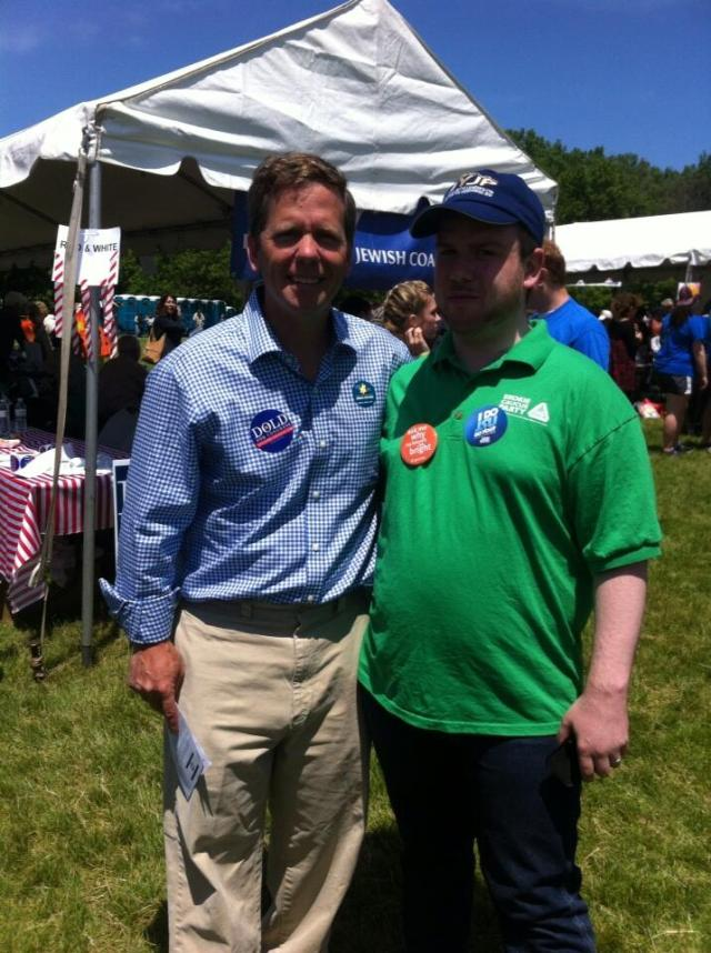 Great seeing Congressman @RobertDold at the @ChiJFest today