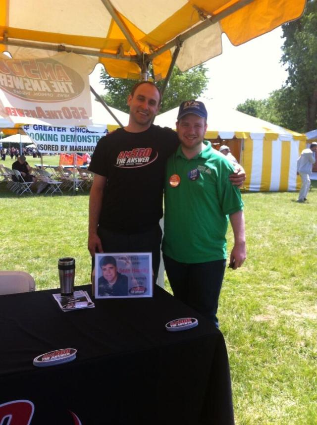 Had fun visiting the @am560theanswer booth at the @ChiJFest. Don't forget to tune into my radio show at 6pm!