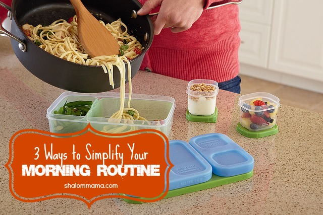 3 Ways to Simplify Your Morning Routine