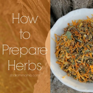How to Prepare Herbs