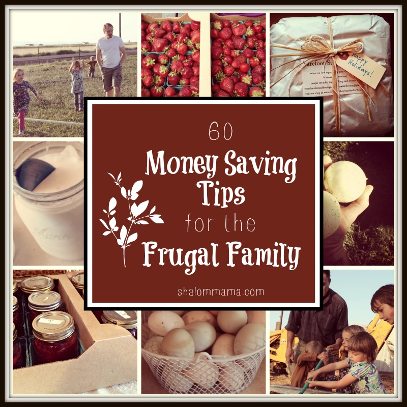 60 money saving tips for the frugal family tiny apothecary