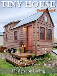 "Tiny House Magazine - with a feature of the Shalom Mama ""home school bus"""