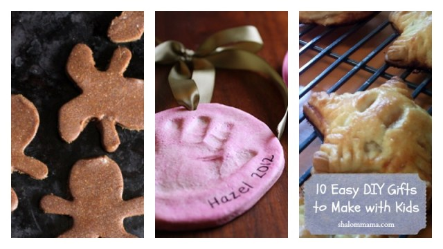 10 Easy DIY Gifts to Make with Kids