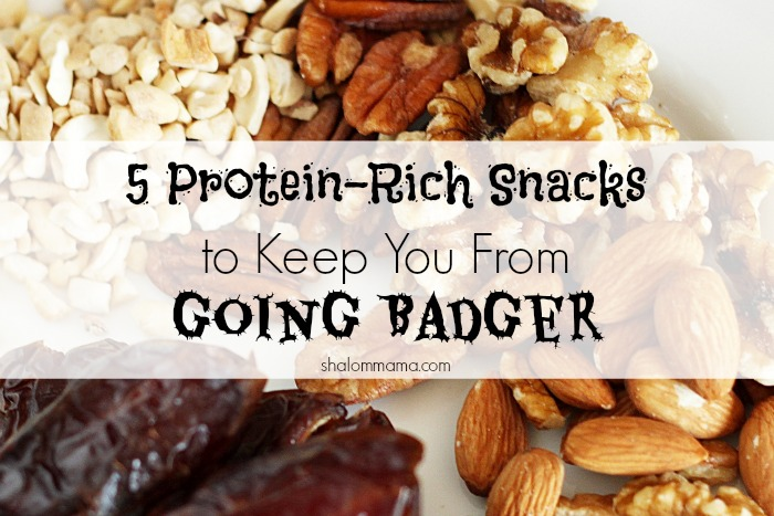 5 Protein-Rich Snacks to Keep You From Going Badger