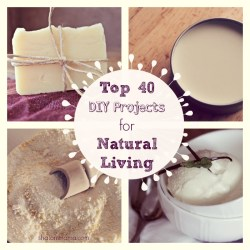 Top 40 DIY Projects for Natural Living