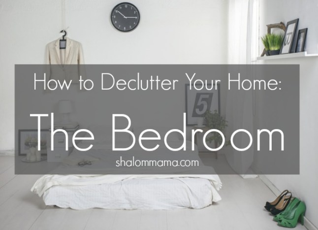 how to declutter your home: the bedroom - tiny apothecary