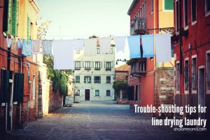 Troubleshooting Tips for Line Drying Laundry