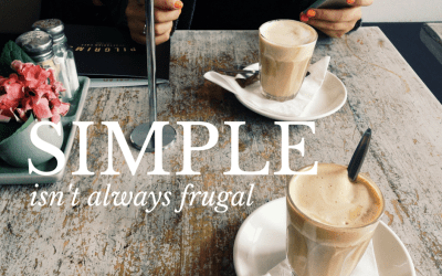 Simple isn't always frugal