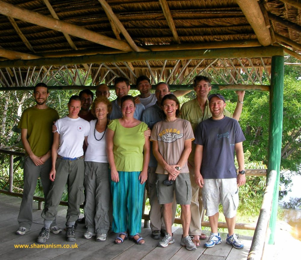 Ayahuasca and Yoga Retreat - Amazon Rainforest, Mishana, Peru. March 2008