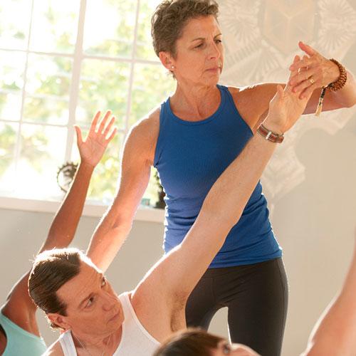 Betsy Ceva teaches Gentle Yoga