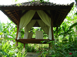 Alam Sari Keliki Hotel, the boutique eco-hotel in the hills in Keliki, north of Ubud in Bali