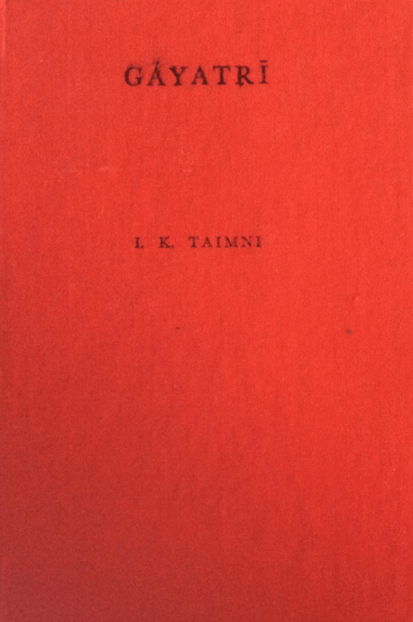 book Taimni Gayatri the daily religious practice of the Hindus