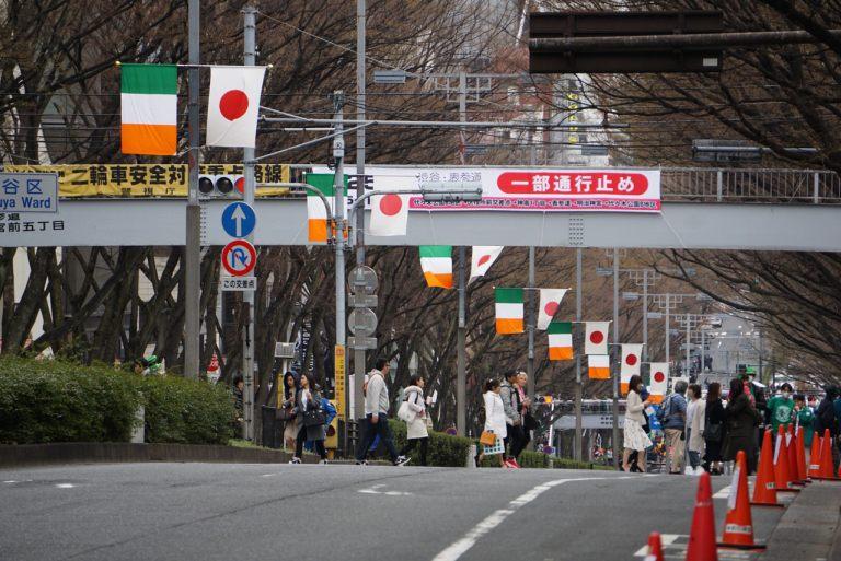 Тем временем, в Японии все выходные праздновали день святого Патрика.