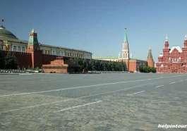 Москва, Красная площадь.