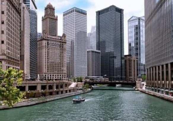 Каналы Чикаго.