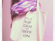 Keep Calm And Geek On in action