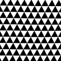 (Ann Kelle) Remix, Triangles in Black