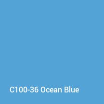C100-36 Ocean Blue