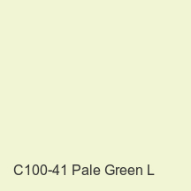 C100-41 Pale Green L