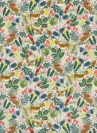 8029-2 - (Rifle Paper Co) Menagerie, Jungle in Natural Unbleached