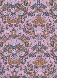 8031-2 - (Rifle Paper Co) Menagerie, Tapestry in Violet