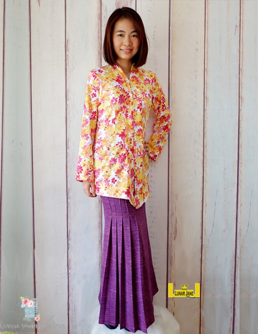 Ivy Pleated Skirt – PDF Pattern (by Haurra Sewing)