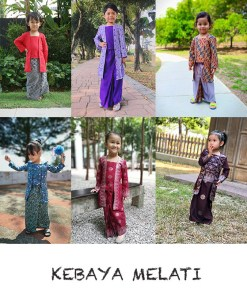 Kebaya Melati Kids – PDF Pattern (by Haurra Sewing)