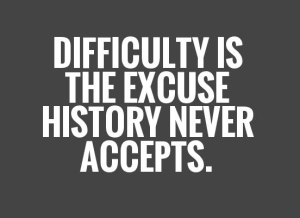 5 Terrible Excuses Hurting Your Success ~ Shameless Pride
