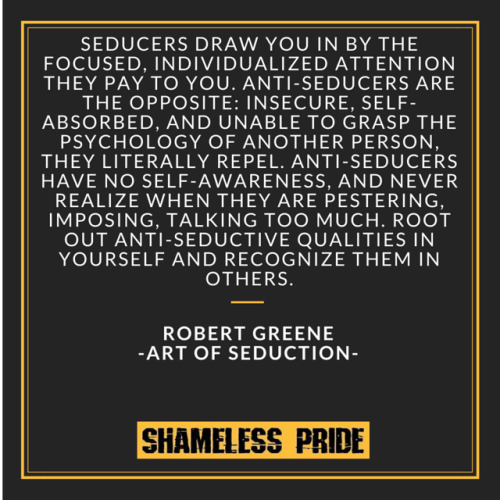 Art of Seduction - Seducing Quote