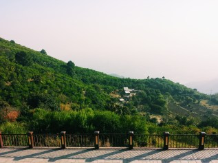 The picturesque view from the top of Monal