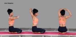 Arm Rotation Steps