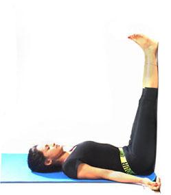 viprit karni legs up the wall pose