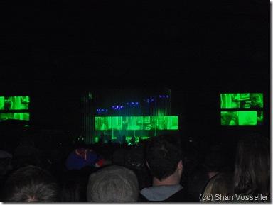 Radiohead concert phoo