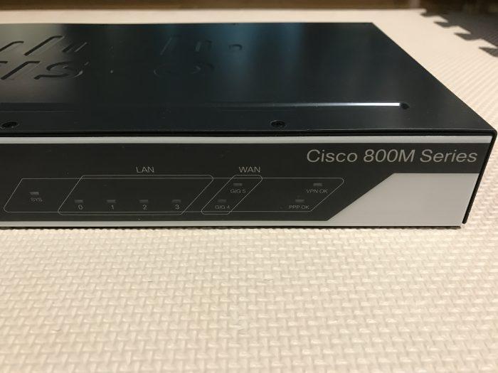 Cisco 841MJ でフレッツに接続する